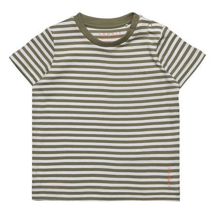 ESPRIT T-Shirt Eric Pale Khaki rayado