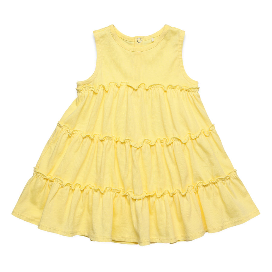 ESPRIT kids Kleid pale yellow