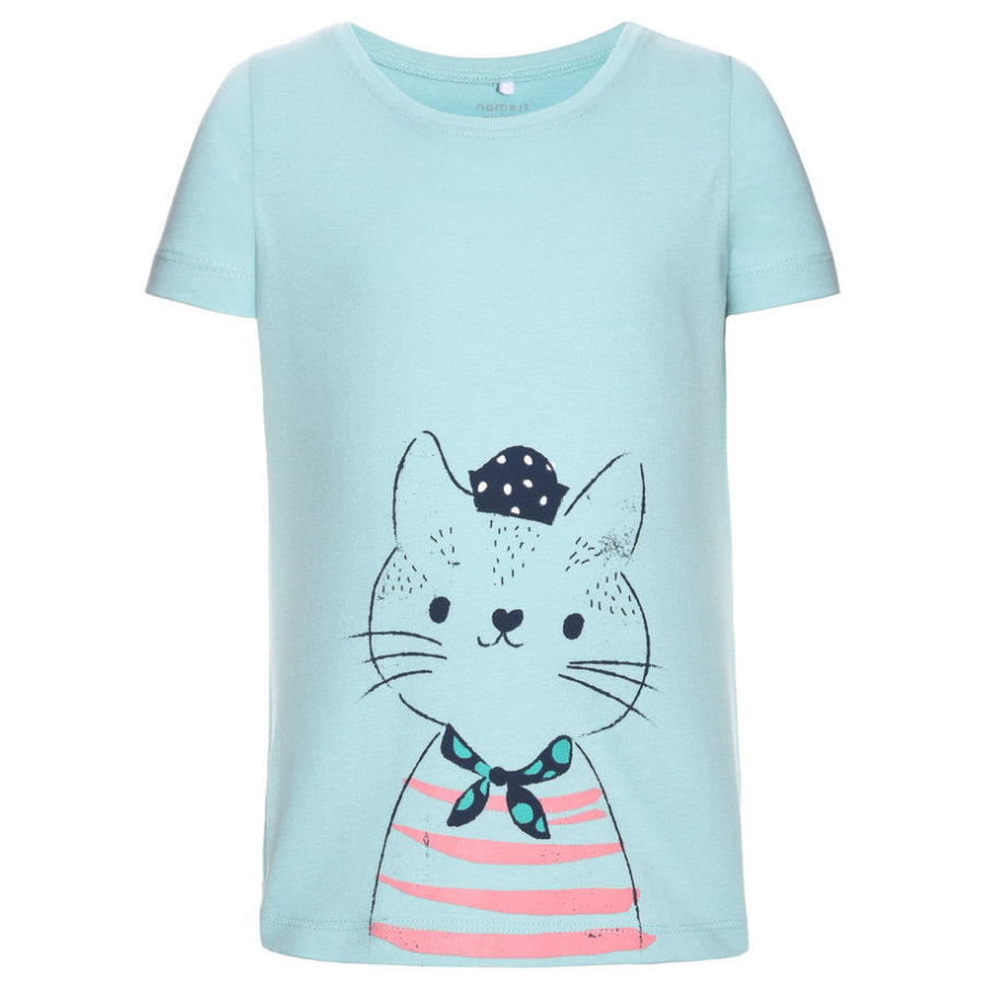 name it Girls T-Shirt Veenfi aqua haze