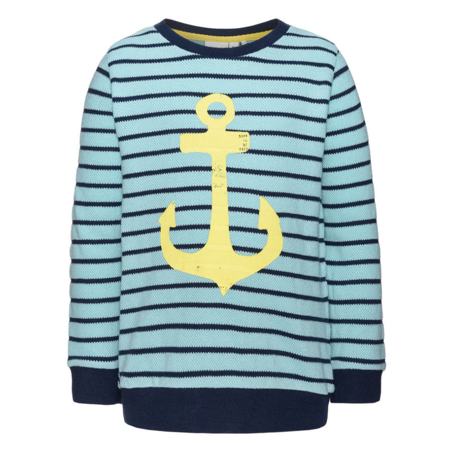 name it Boys Sweatshirt Fion aqua haze
