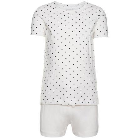 name it Girl s pijama 2 piezas Iea blanco nieve