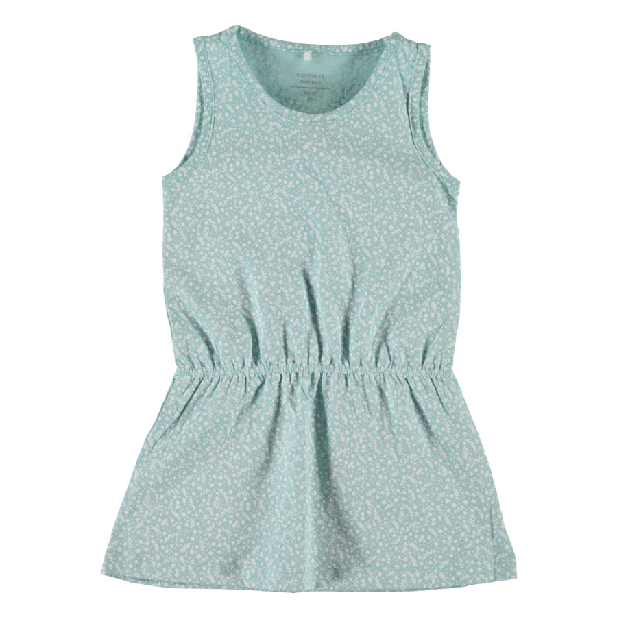 name it Girls Kleid Viggafix aqua haze