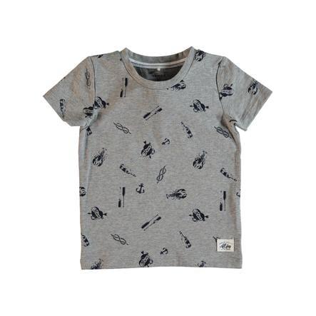 name it Boys T-Shirt Frans gris mélange