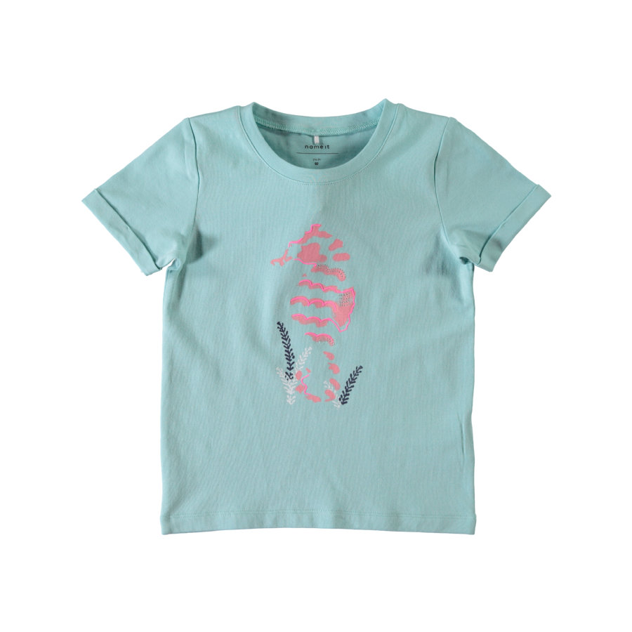 name it Girls T-Shirt Fra aqua haze
