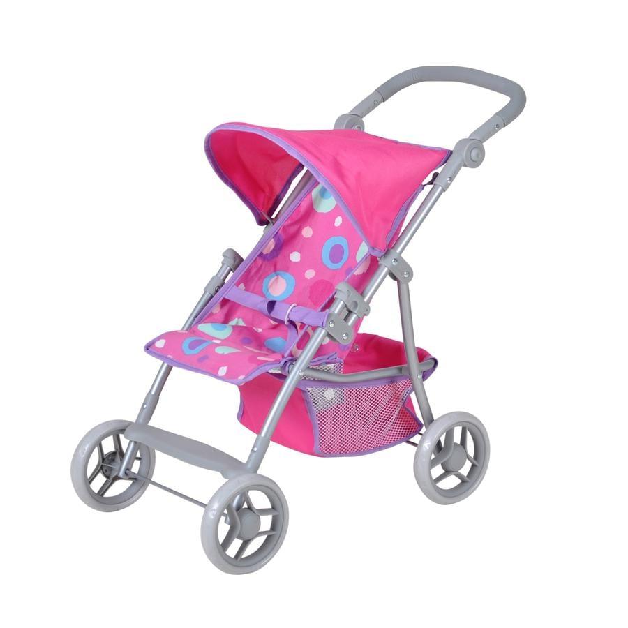 knorr® toys Poppenbuggy Liba - pink slash