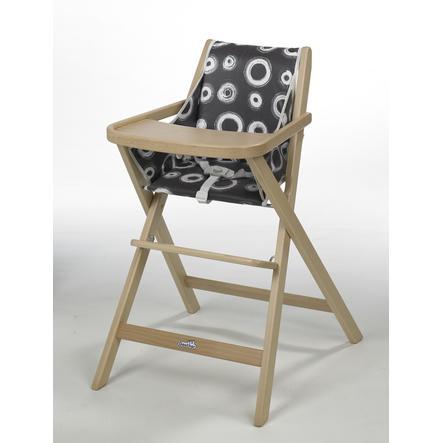 GEUTHER Jídelní židlička TRAVELLER - přírodní