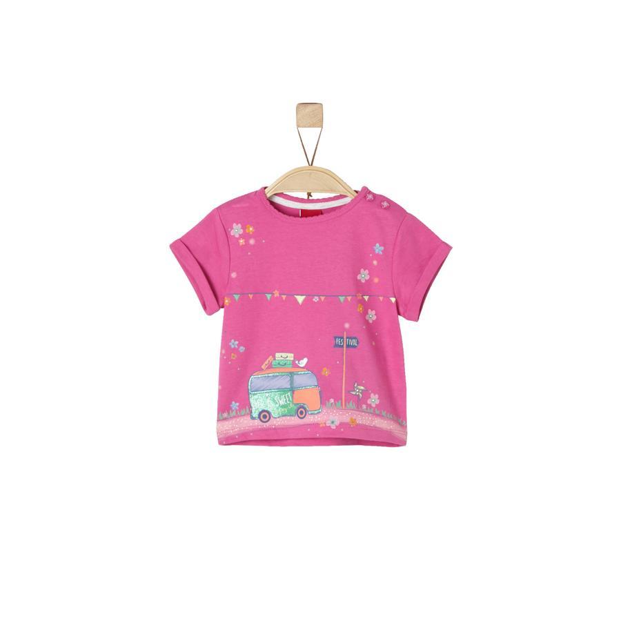 s.Oliver Girls Koszulka T-Shirt pink