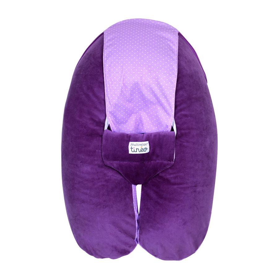 candide tin o coussin multirelax velours violet. Black Bedroom Furniture Sets. Home Design Ideas