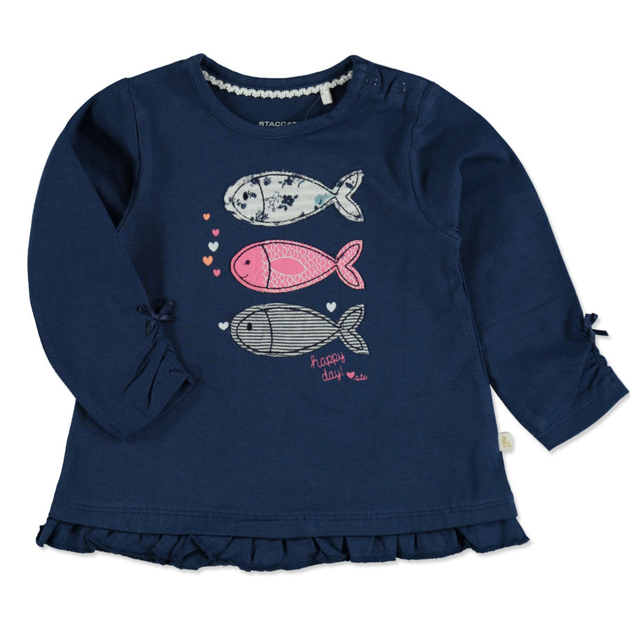 STACCATO Girls Tunika blue Fische