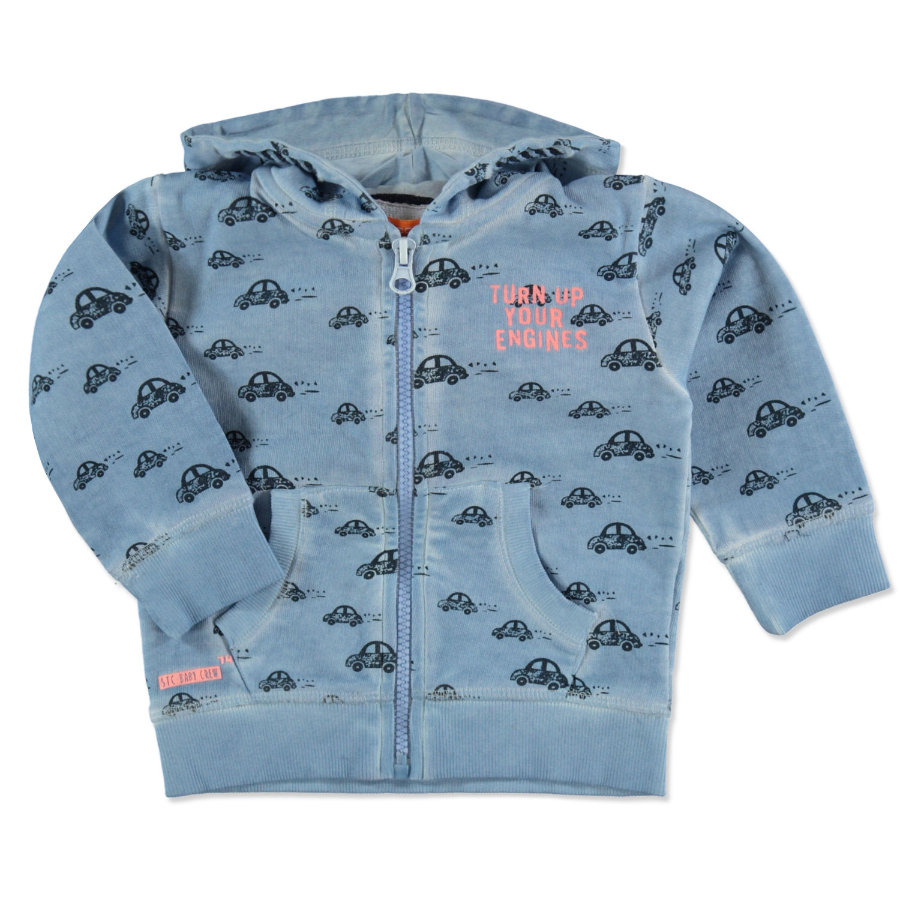STACCATO Boys Sudadera chaqueta blight blue car