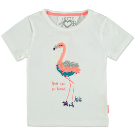 JETTE by STACCATO Girls T-Shirt offwhite Flamingo