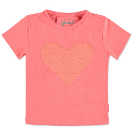 JETTE by STACCATO Girls T-Shirt bright red Wendepailletten