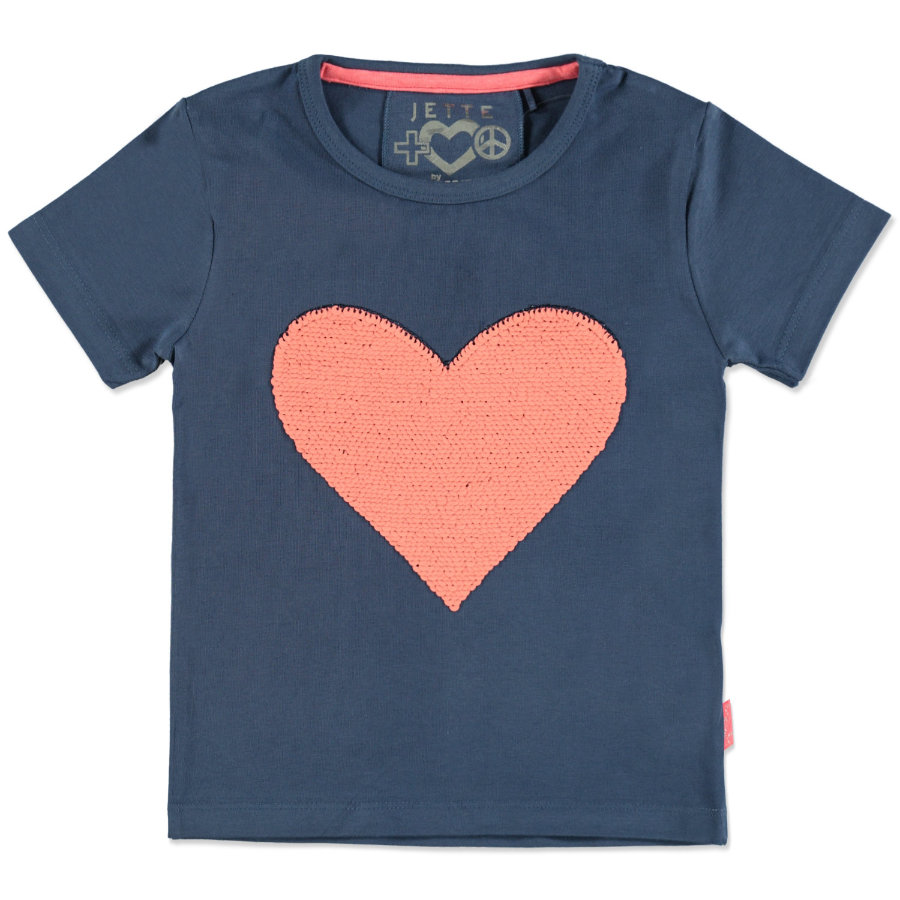 JETTE by STACCATO Girls T-Shirt ink Wendepailletten