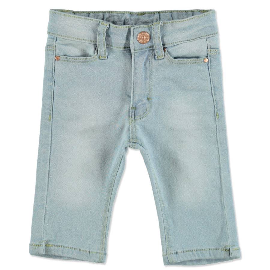 STACCATO Girls Capri-Jeans light blue denim