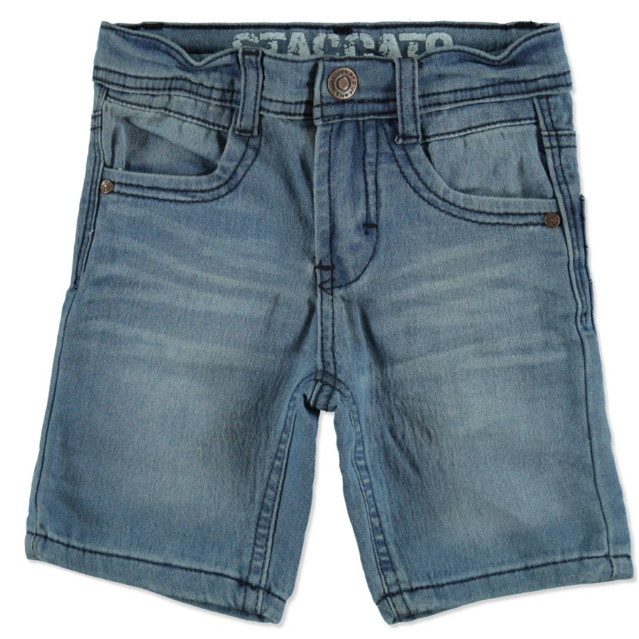 STACCATO Boys Jogg-Denim Bermudas light blue denim