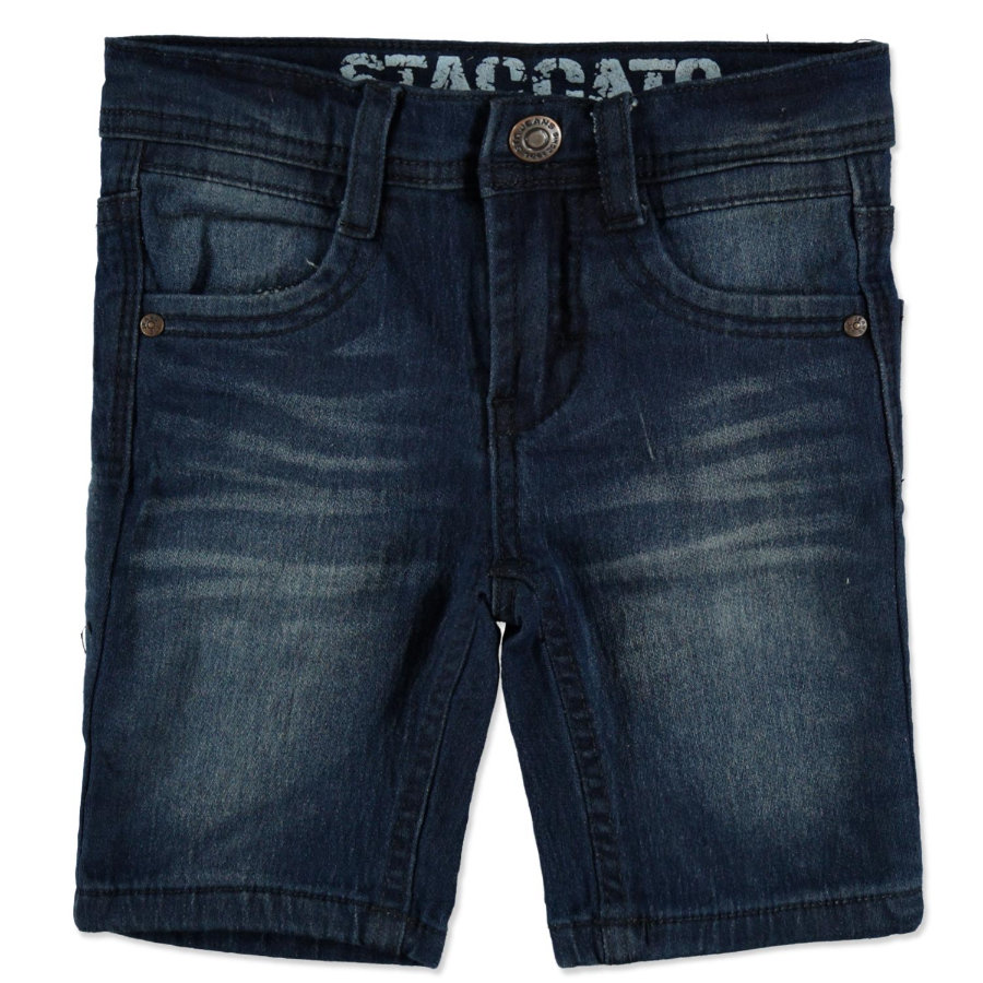 STACCATO Boys Jogg-Denim Bermudas dark blue denim