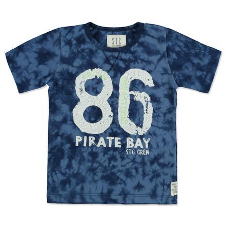 STACCATO Boys T-Shirt dark blue batik