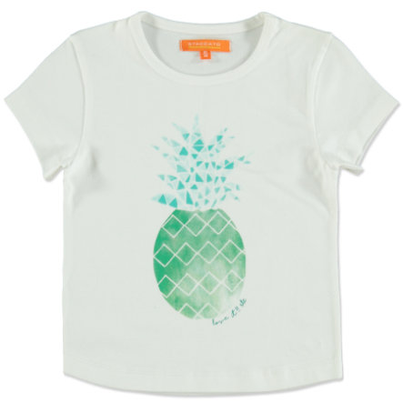 STACCATO Girl s T-Shirt soft witte ananas