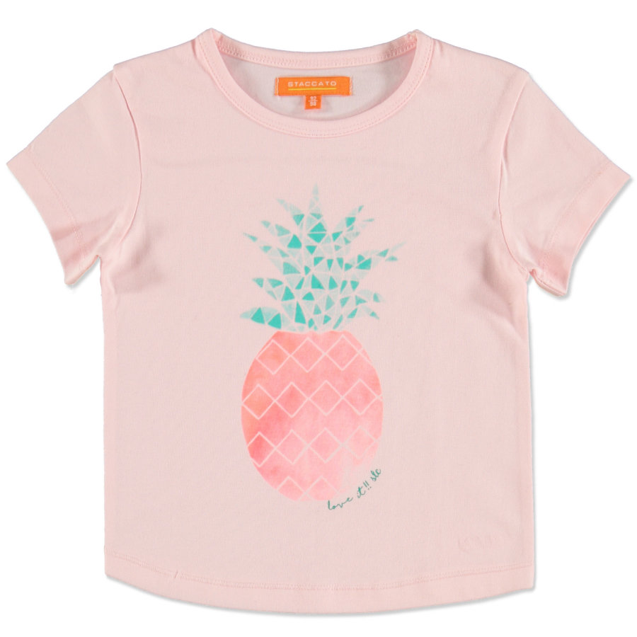 STACCATO T-Shirt powder Ananas