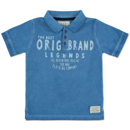 STACCATO Boys Poloshirt waterblue melange