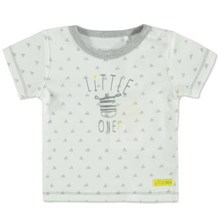 STACCATO T-Shirt triángulo blanco