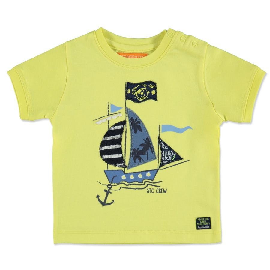 STACCATO Boys T-Shirt yellow Schiff