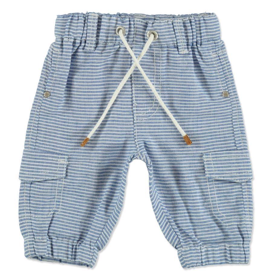 STACCATO Boys Pantalón azul estructura rayas