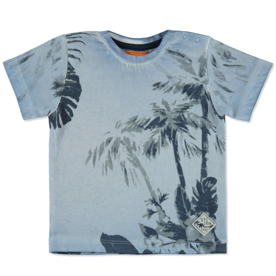 STACCATO Boys T-Shirt light blue Palmen