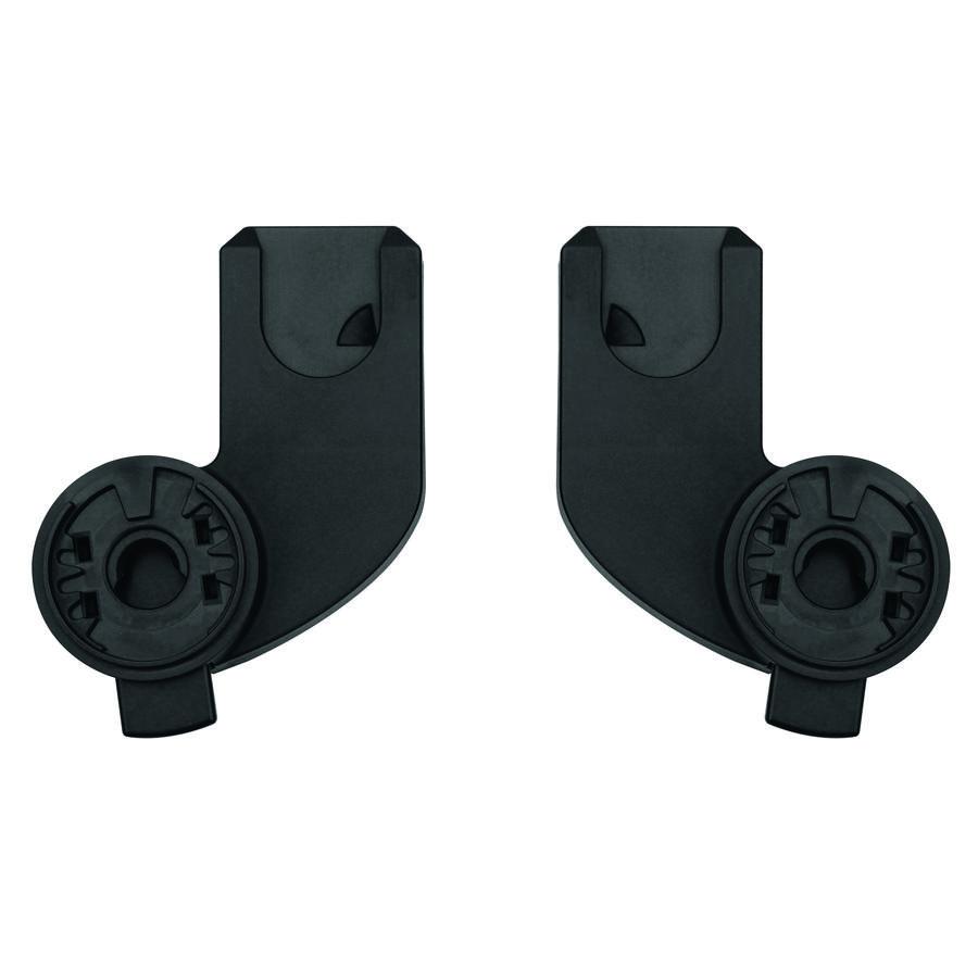 Quinny Zapp X Adapter für Maxi-Cosi Babyschalen, Black