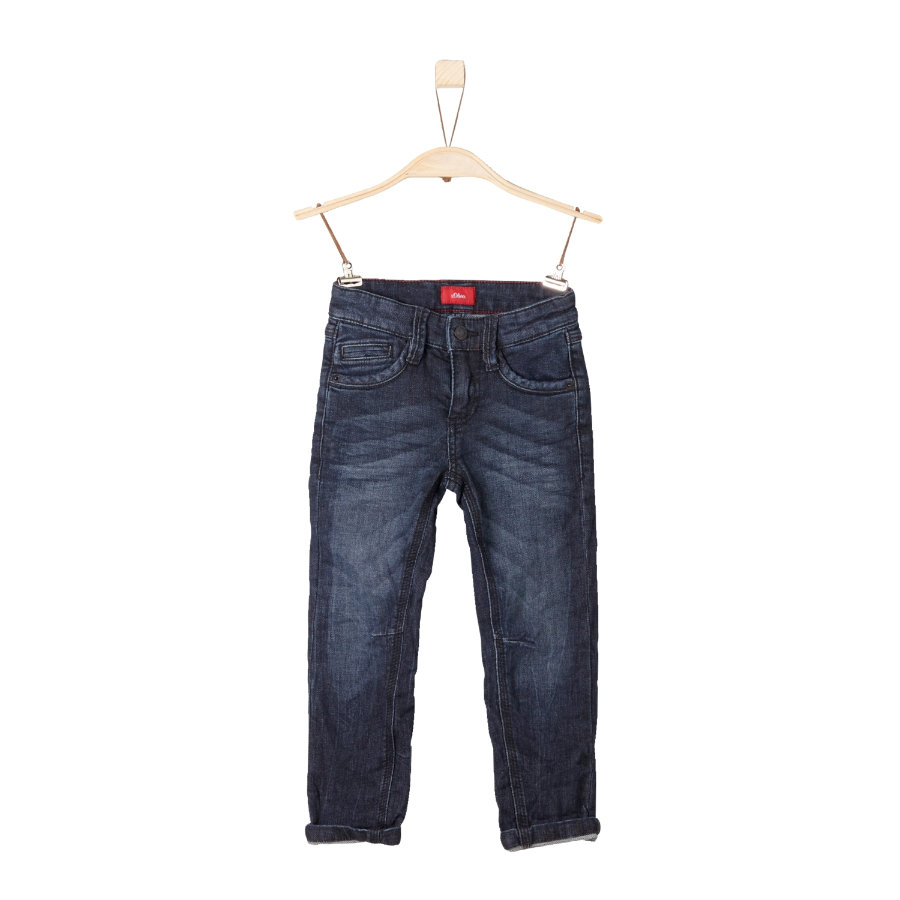 s.Oliver Boys Jeans blu denim stretch regolare