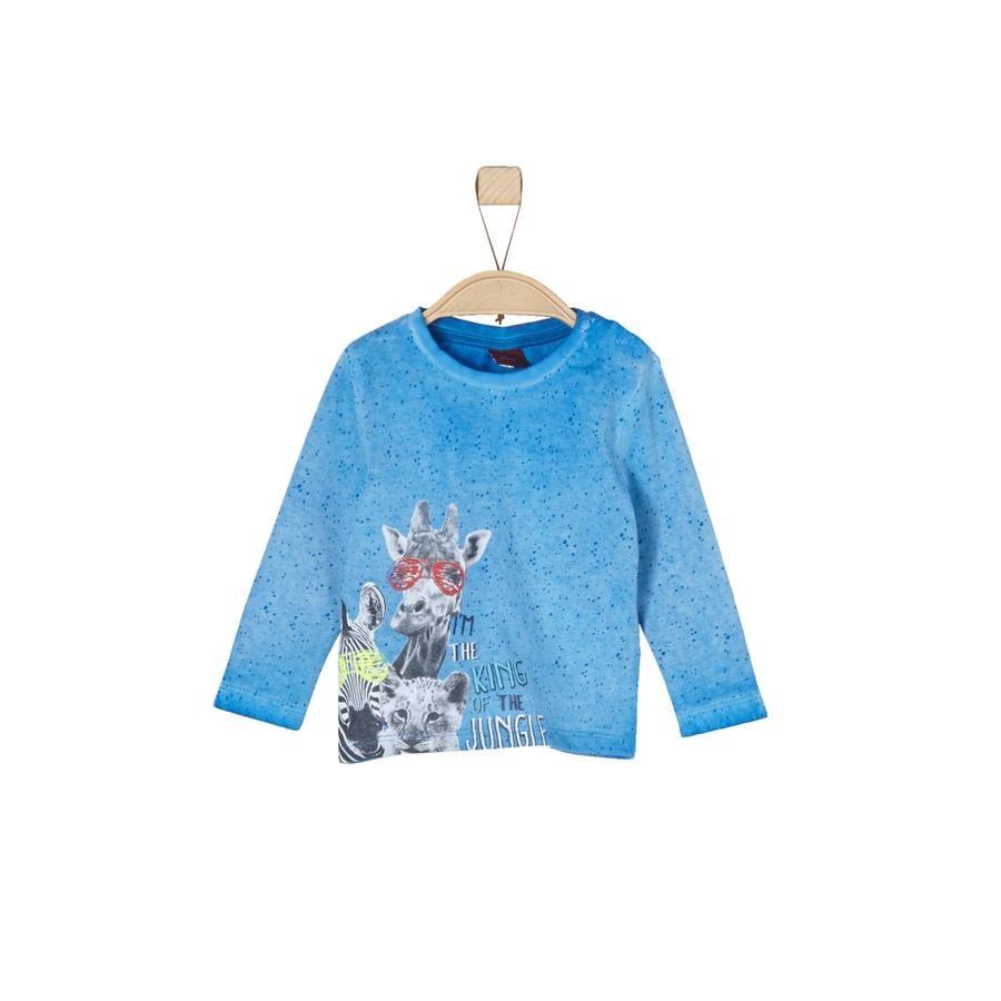 s.Oliver Boys Longsleeve blauw