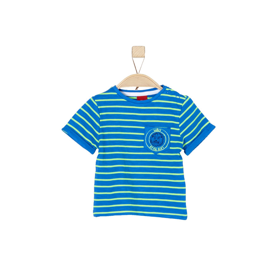 s.Oliver Boys T-Shirt rayures bleues