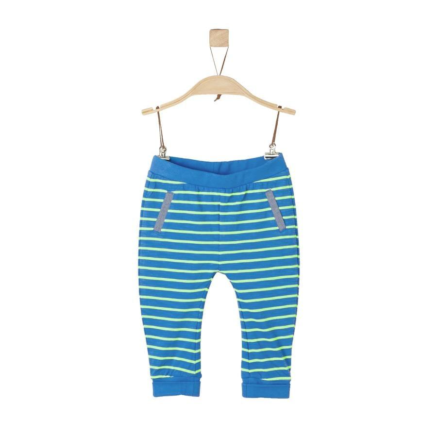 s.Oliver Boys Sweathose blue stripes