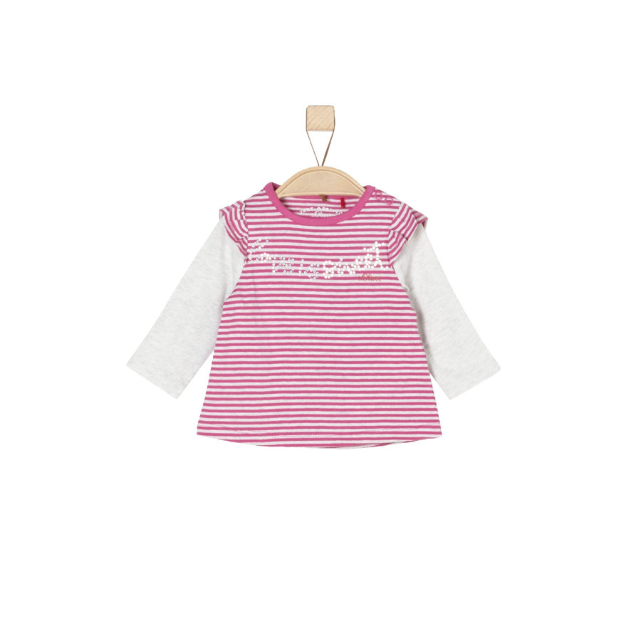 s.Oliver Girl s Longsleeve roze strepen