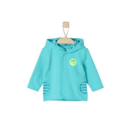s.Oliver Girls Sweatjacke turquoise