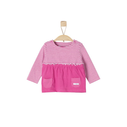 s.Oliver Girl s Strisce rosa manica lunga a righe rosa