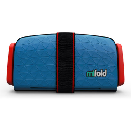 mifold Kindersitz Grab-and Go Booster Denim Blue