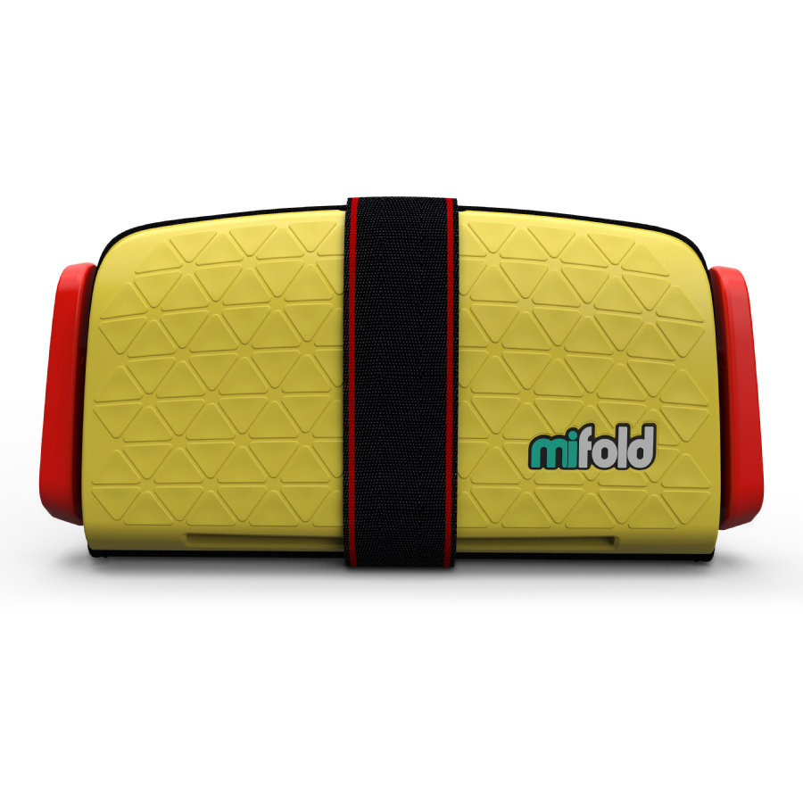 mifold Kindersitz Grab-and Go Booster Taxi Yellow