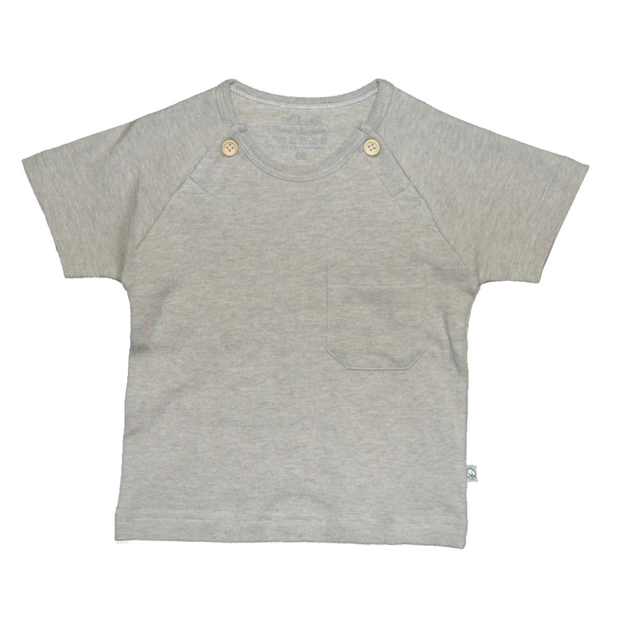 EBI & EBI Fairtrade beige T-Shirt melange