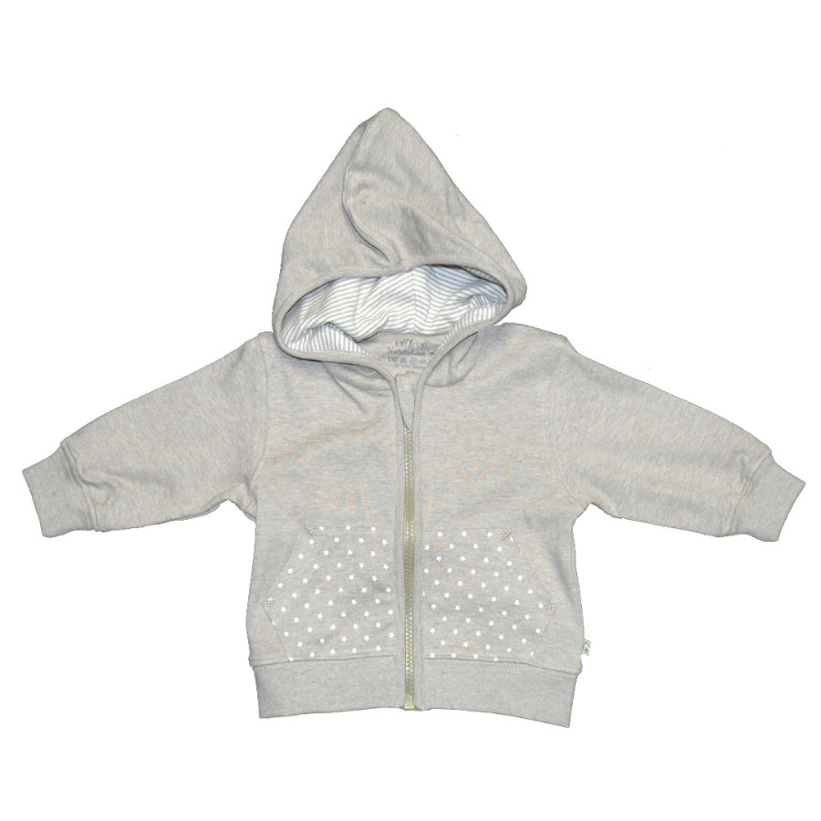 EBI & EBI Fairtrade Sweat Jacket Fairtrade beige melange