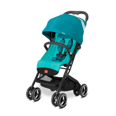 gb GOLD Buggy Qbit Plus Capri Blue - turquoise