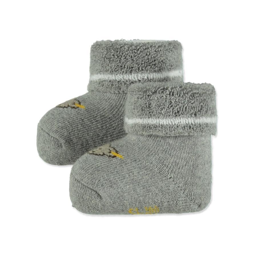 Steiff Socken Geschenkbox melange grau