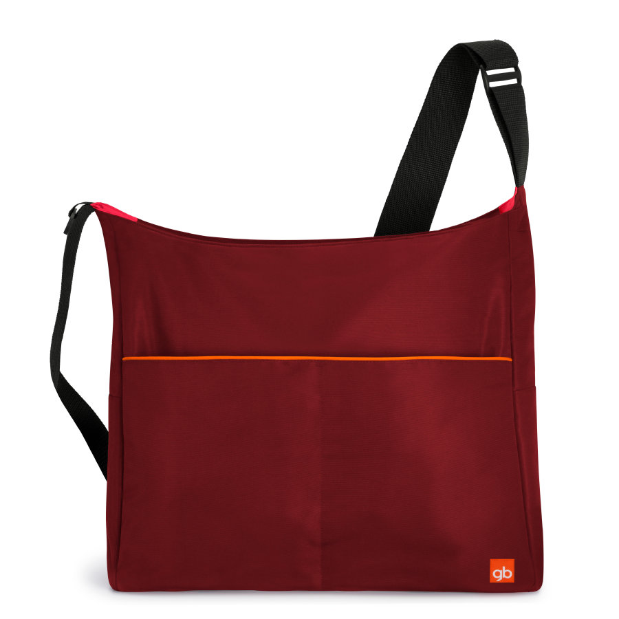 gb GOLD Wickeltasche Red-red