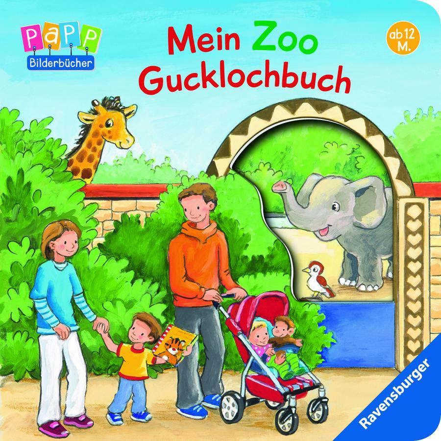 Ravensburger PaPP Bilderbücher - Mein Zoo Gucklochbuch