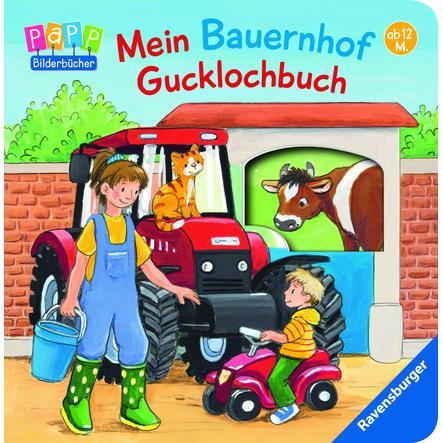 Ravensburger PaPP Bilderbücher - Mein Bauernhof Gucklochbuch