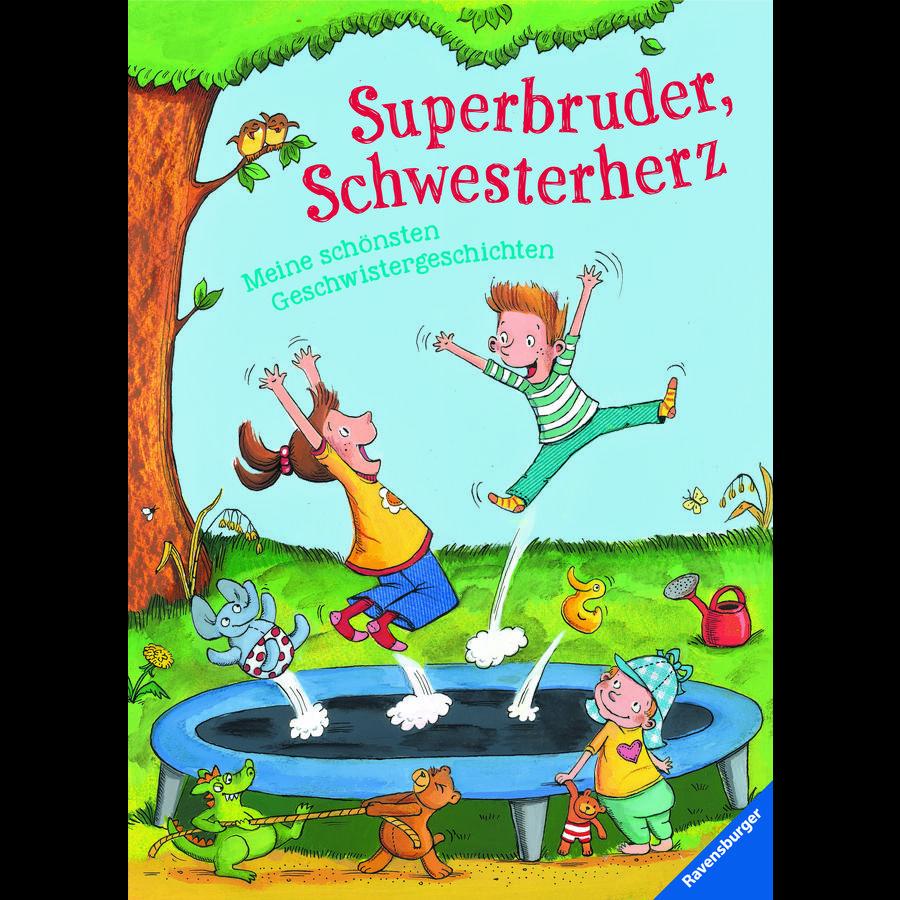 Ravensburger Superbruder, Schwesterherz - Meine schönsten Geschwistergeschichten