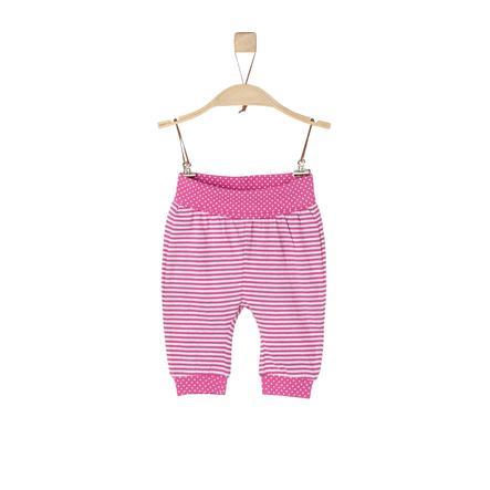 s.Oliver Girls Sweathose pink stripes