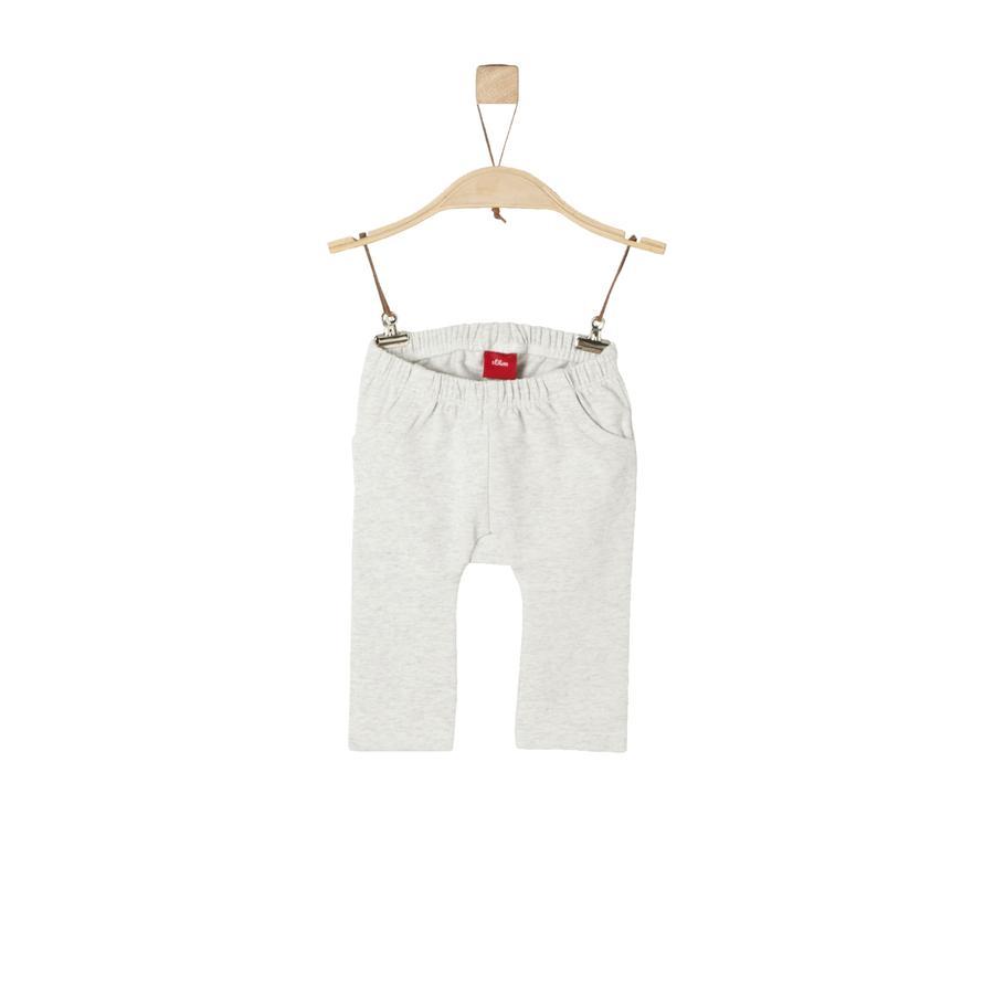 s.Oliver Girl s Pantalon de survêtement melange blanc