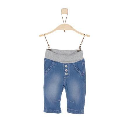 s.Oliver Boys Spodnie Jeans blue denim regular