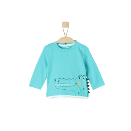 s.Oliver Boys Manches longues turquoise
